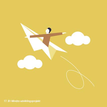 Illustrationer_skitser Til DH_colorful_v2_17. B1 Mindre udviklingsprojekt
